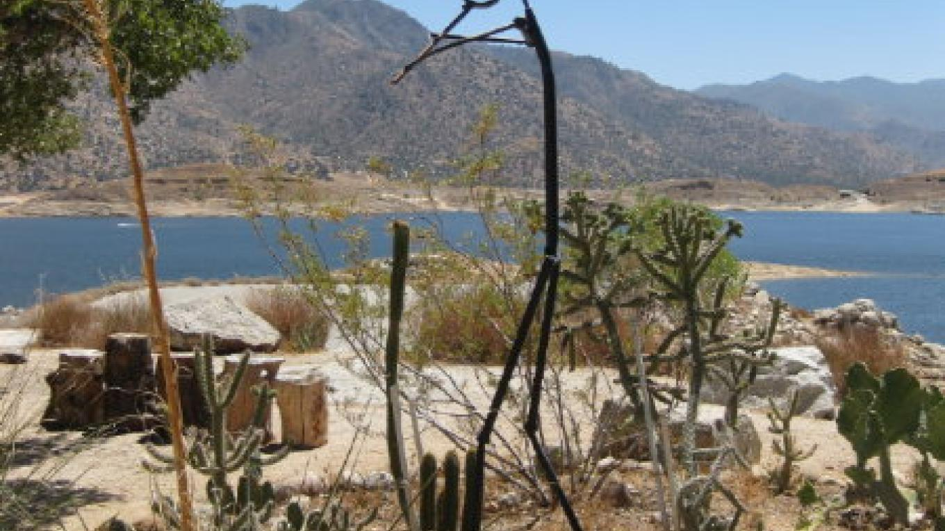 One of the garden areas at the Nuui Cunni site located on Lake Isabella – Nuui Cunni Native American Cultural Center