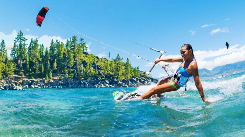 Kite Board Adventure Course - Lake Tahoe – Tahoe Jack's Adventure Authority
