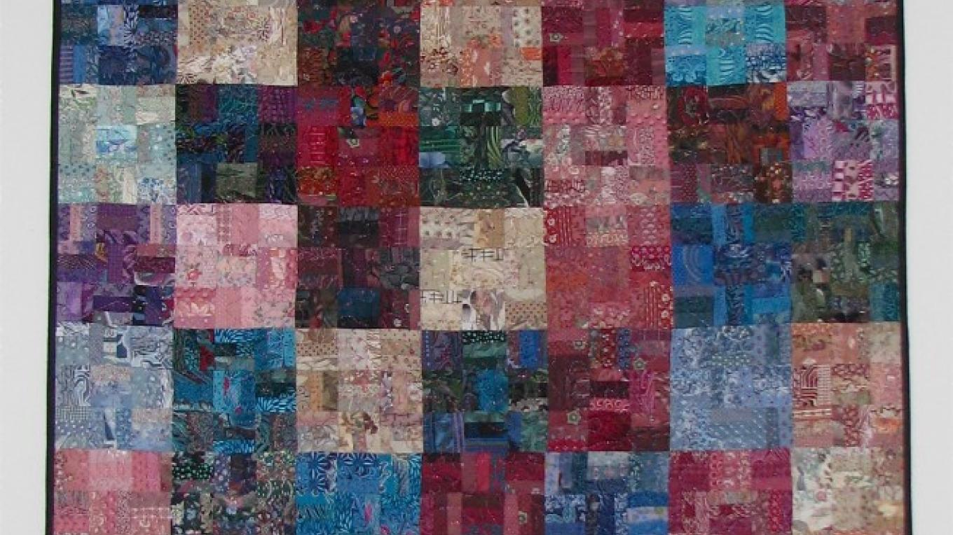 Her first major quilted piece remains a favorite – Karrie Lindsay