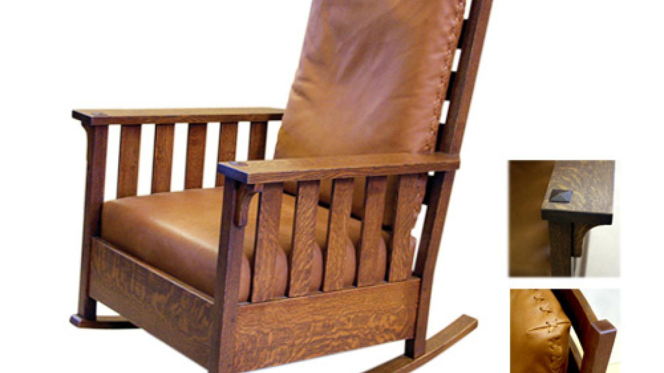 Stickley Rocking chair – martha widmann
