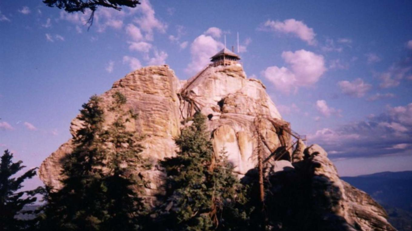 Our namesake, Buck Rock Fire Lookout, re-opened in 2000. – Kathryn Allison