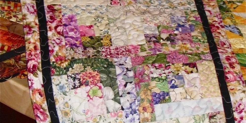 Floral patterns are favorites, particularly for Spring wedding presents. – Karrie Lindsay