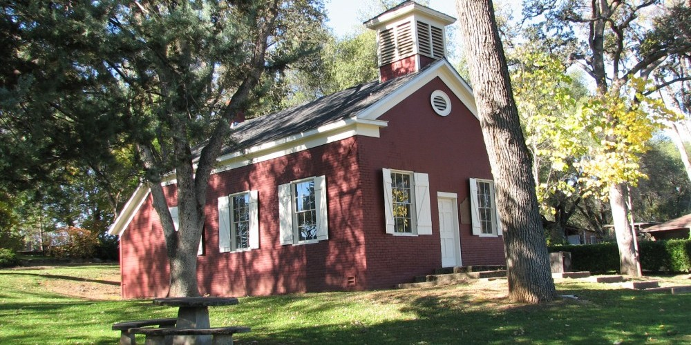 Exterior and Grounds of Altaville School House – B Rogers