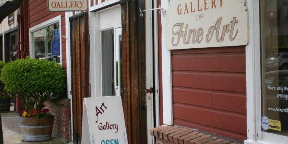 Auburn Old Town Gallery Come on in!