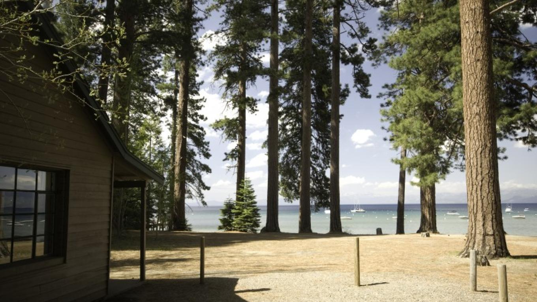 Lakeview from Studebaker cabin – Camp Richardson Resort