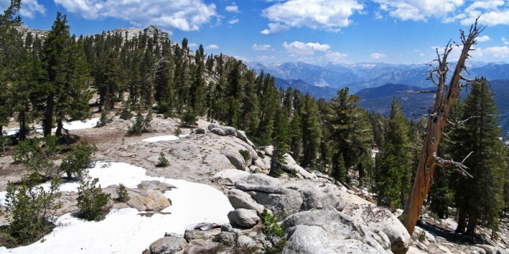 Silliman Pass is on the border between Sequoia and Kings Canyon National Parks. – NPS/Rick Cain