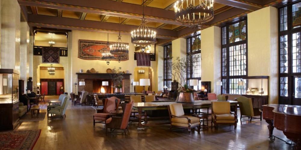 The Majestic Yosemite Hotel Great Lounge
