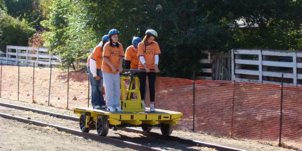 Handcar Races, Rails to Trails Festival