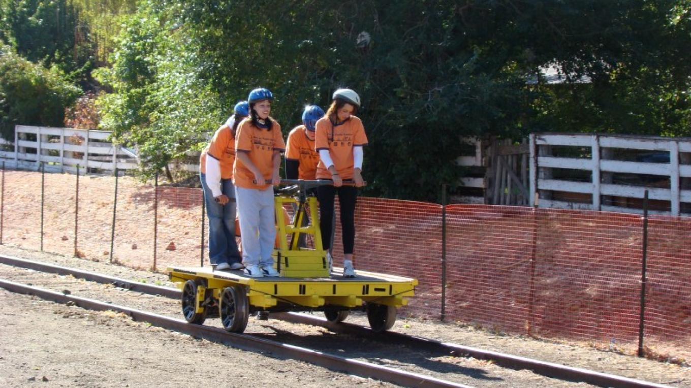 Handcar Races, Rails to Trails Festival