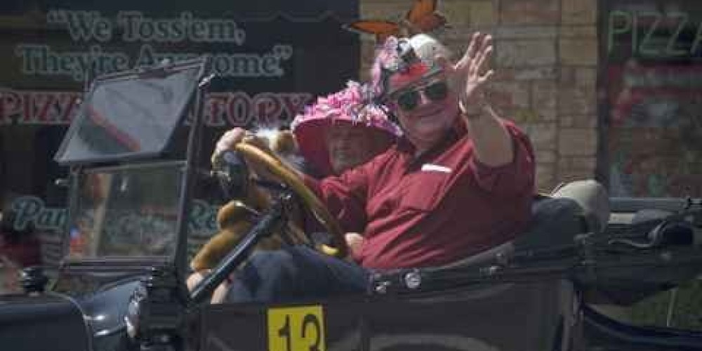 Butterfly festival  parade in historic downtown Mariposa – Charles Phillips
