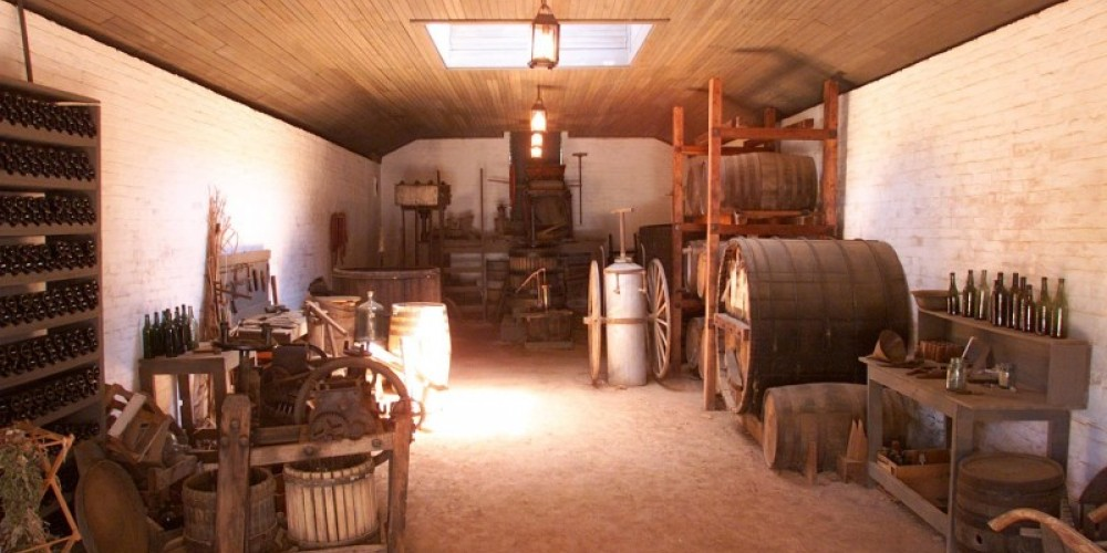 Interior of the Wine Processing Building – Keith Sutter