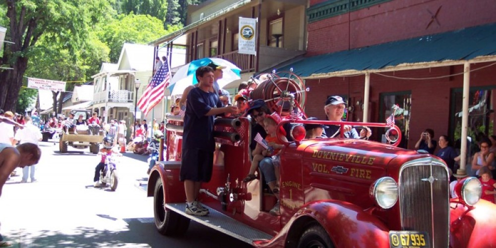 There's nothing like getting a ride on the firetruck! – Mary Davey