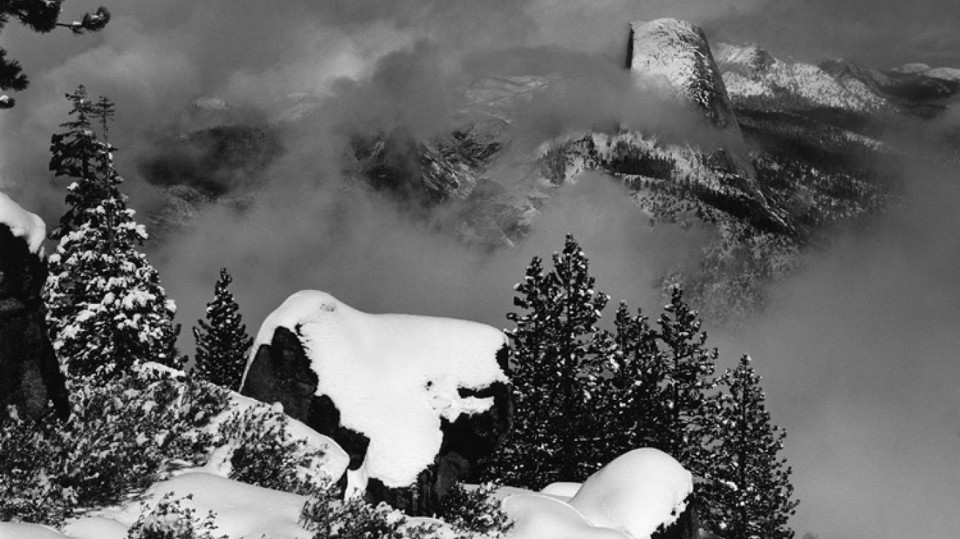 Clearing Winter Storm, Half Dome – Ben Dewell