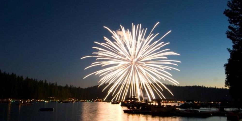 4th of July Fireworks – www.basslake.com