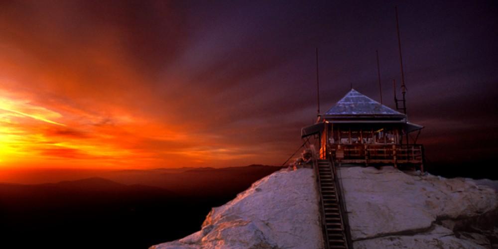 Buck Rock with sunset – Matteo Geer