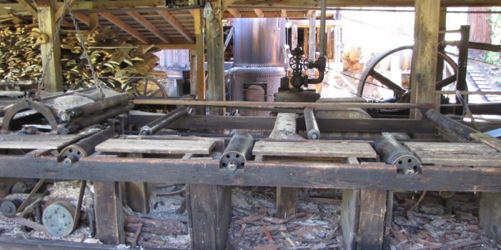 Inside the mill. – Ben Miles