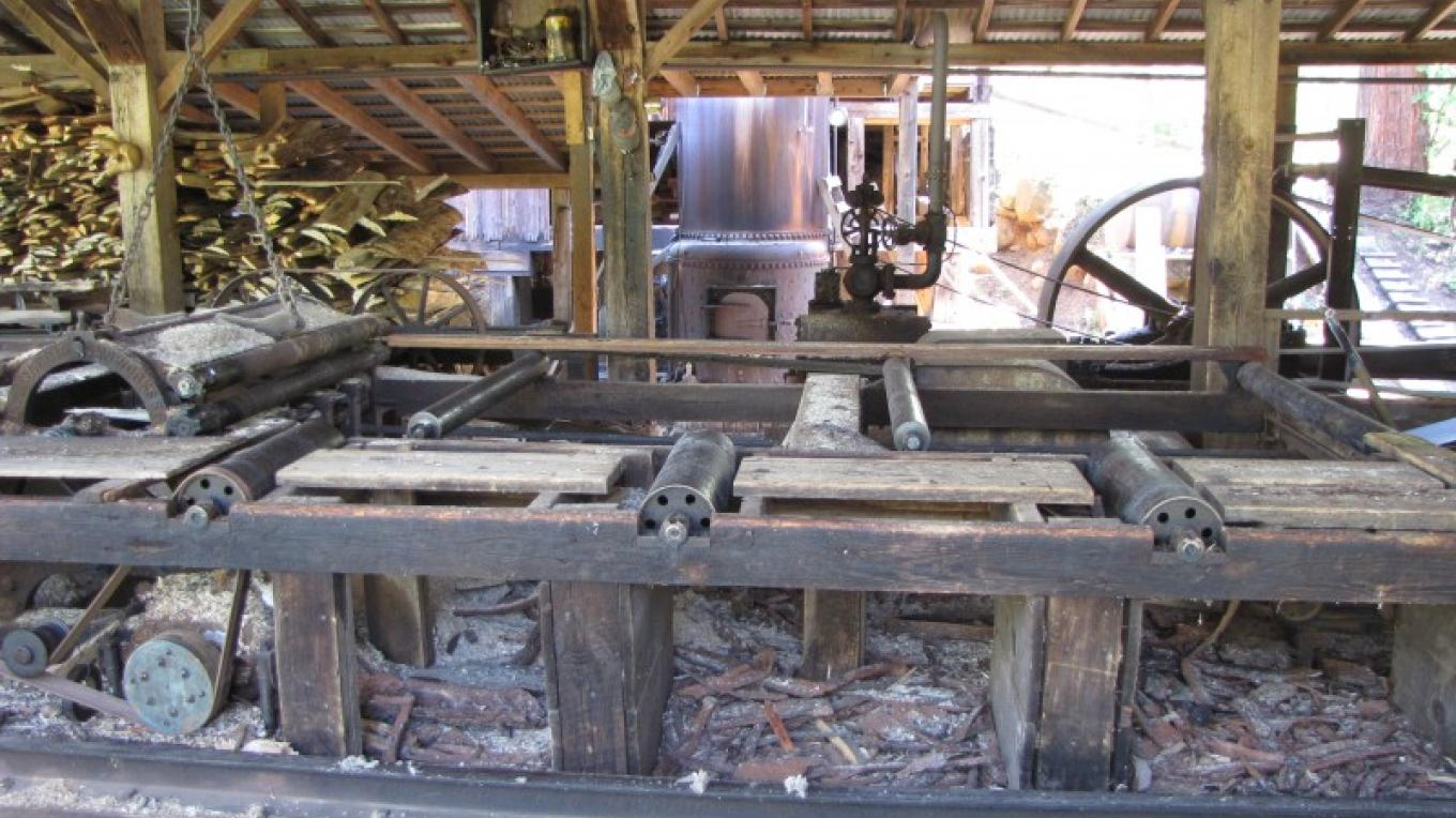 Inside the mill. – Ben Miles