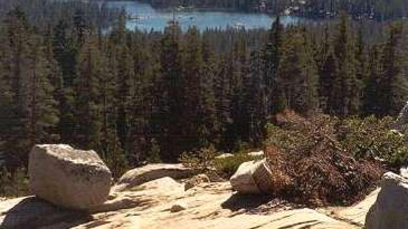 On the way to Wright's Lake – USFS
