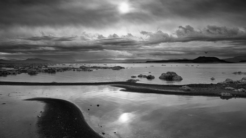 Stormy Shore, Mono Lake, CA – Robb Hirsch