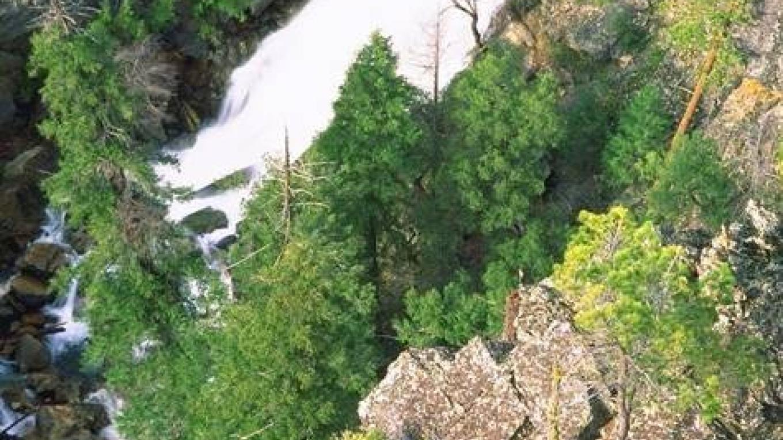 San Antonio Falls, Arnold Rim Trail – Ross Alford