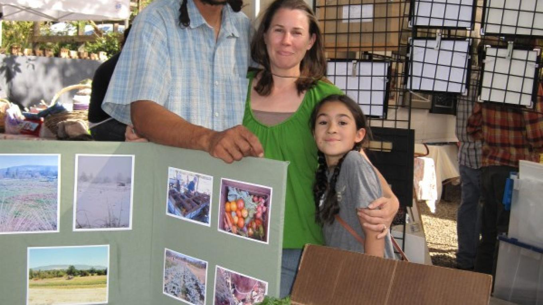 Stella Luna Farm CSA box at Harvest Festival – Bonnie Bladen