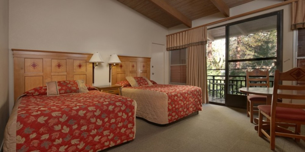 Yosemite Valley Lodge Room Interior