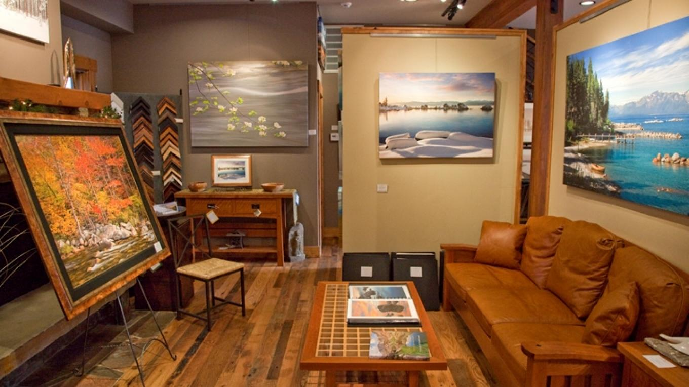 The Carmel Gallery affords a warm and comfortable relaxing environment. – E. Carmel