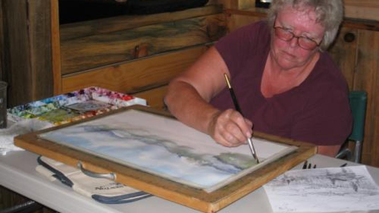 working artist – Andrea Marjala