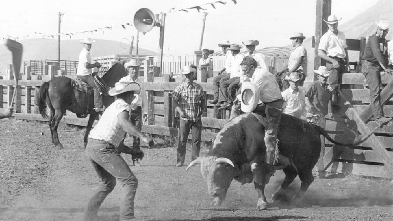 Sierraville's rodeo grounds are still very actively used regularly throughout the year. – unknown