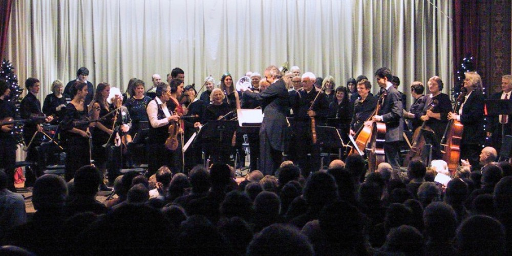 Another Standing Ovation for the Mariposa Symphony Orchestra in its home theatre, the Fiester Auditorium in Mariposa – Suzanne Thorson