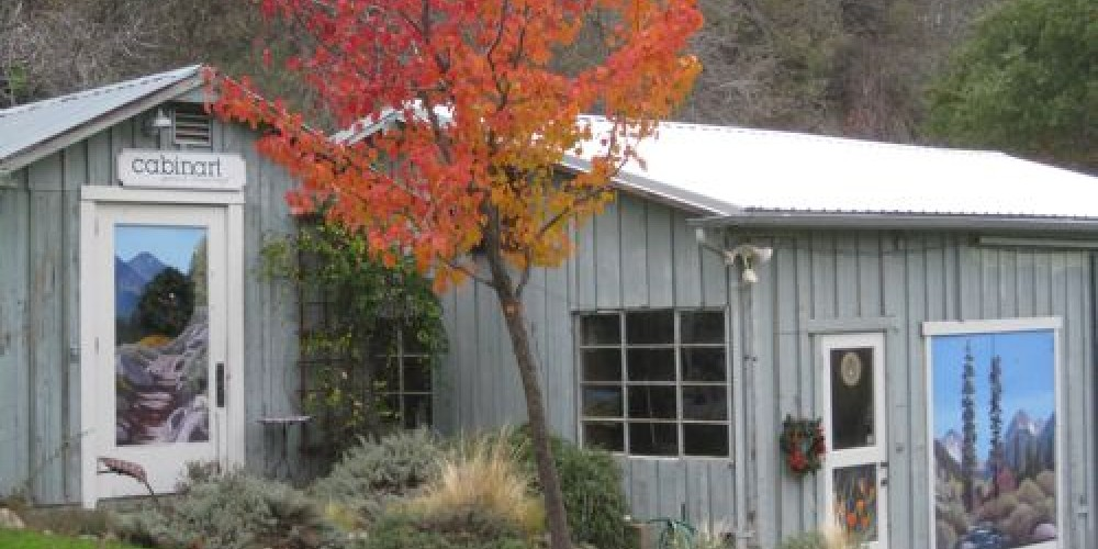 Studio and workshop in fall – Jana Botkin