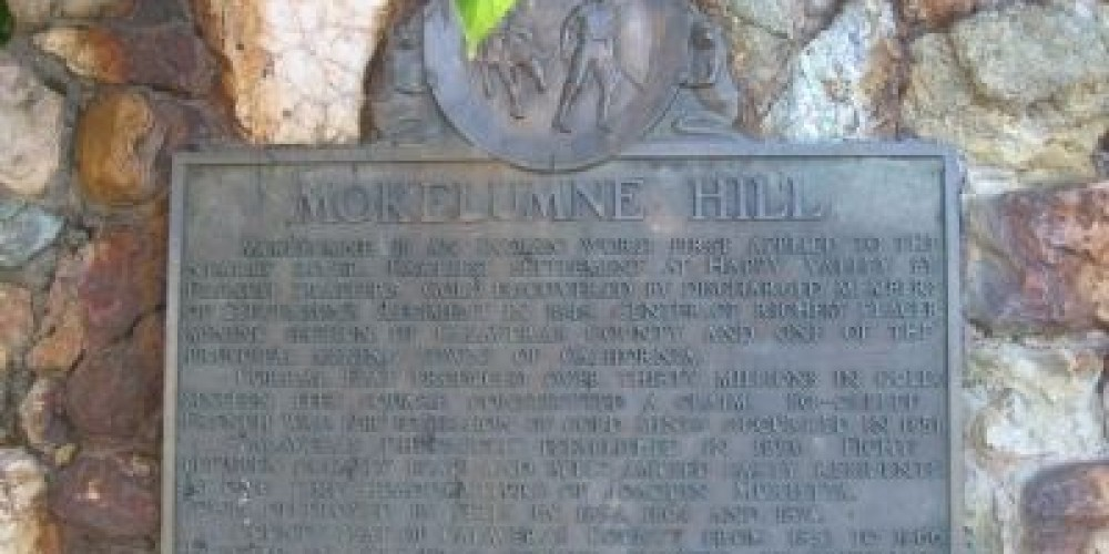 Mokelumne Hill Historical Landmark – Syd White/hmdb.com