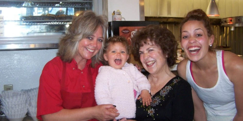 Four generations working at the diner – Cheryl