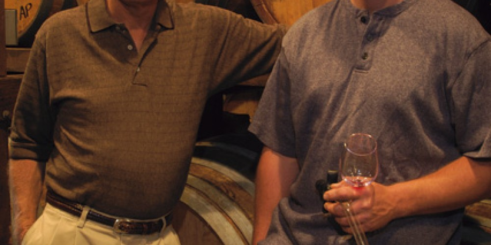 Greg and Justin Boeger, Winemakers