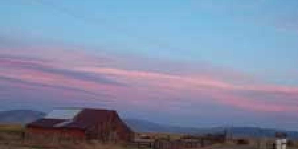 Sierra Valley Farms Sunset