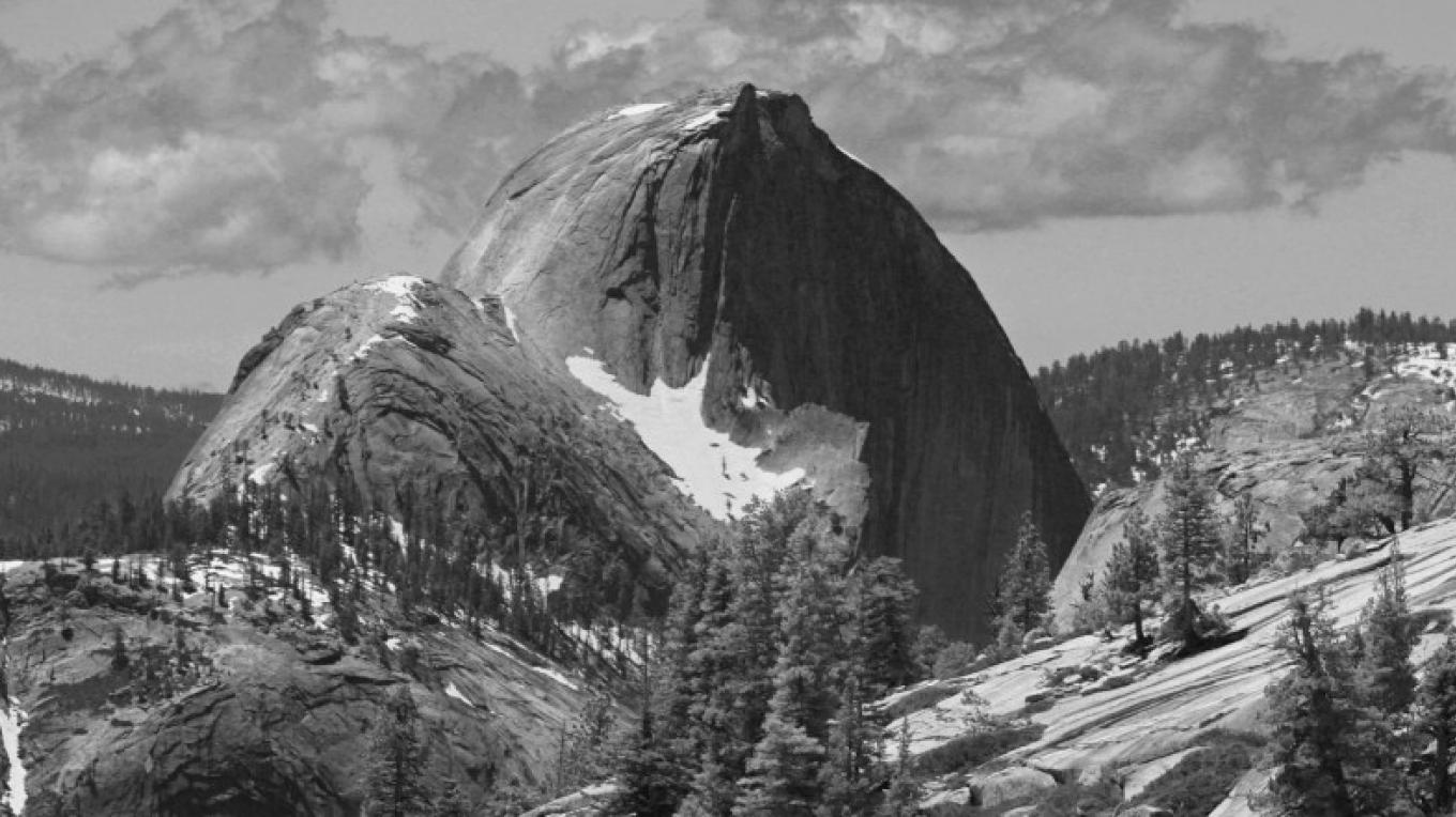 Closer 'back side view' of Half Dome – Ray Anderson