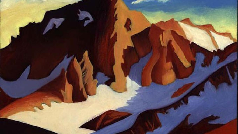 Bear Creek Spire, 8x10, oil/masonite, Wynne Benti – Coons Gallery