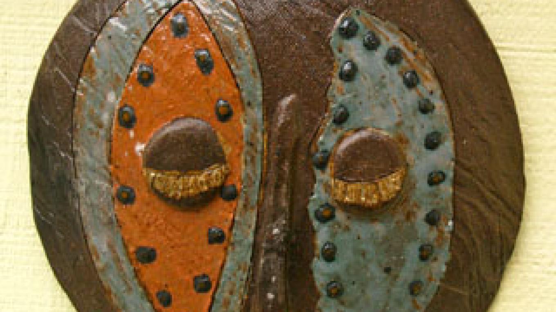 """Omo Child Mask"" – Shirley A. Blair Keller"