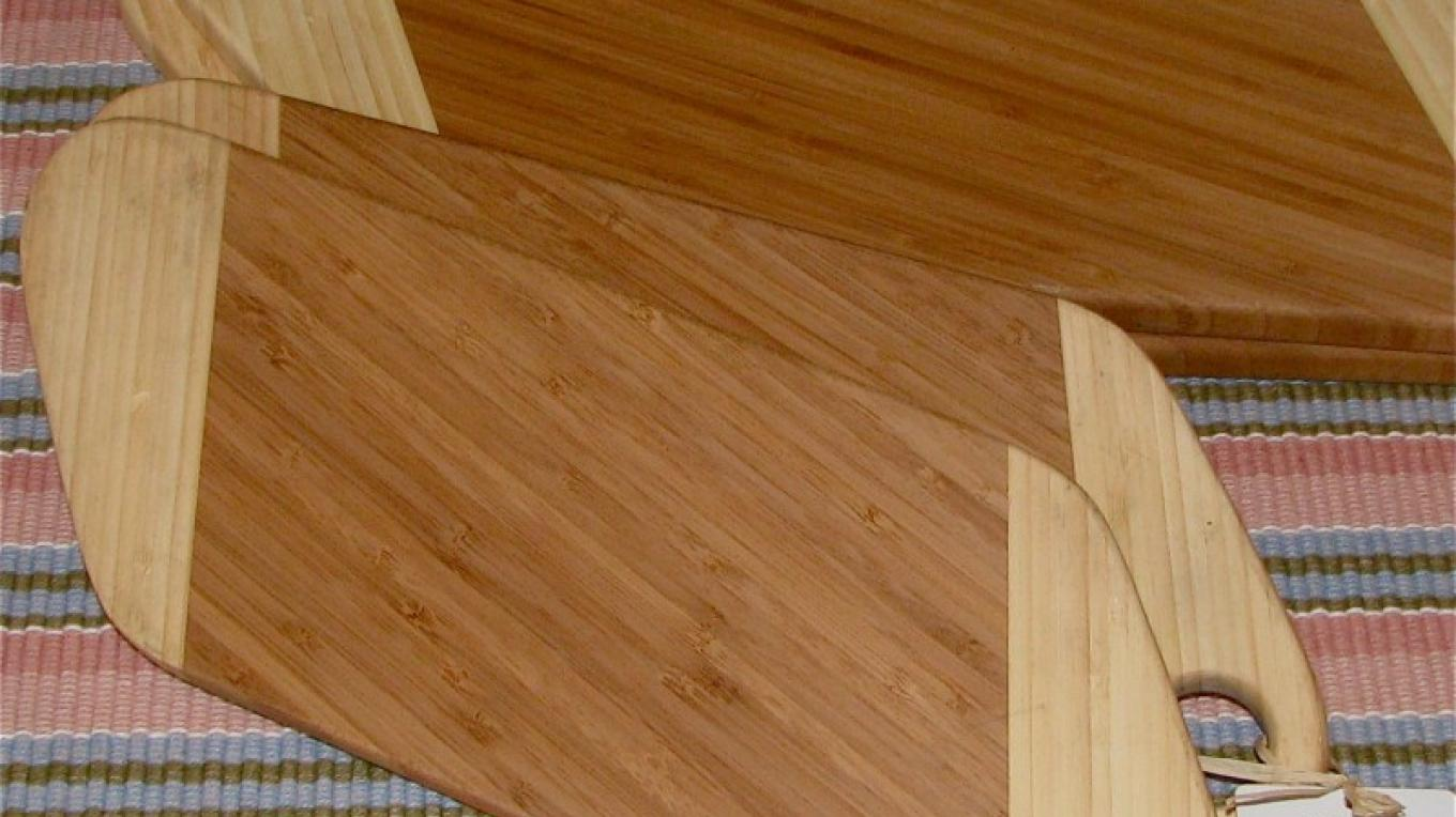 The bamboo cutting boards are durable and easy to keep clean. – Karrie Lindsay
