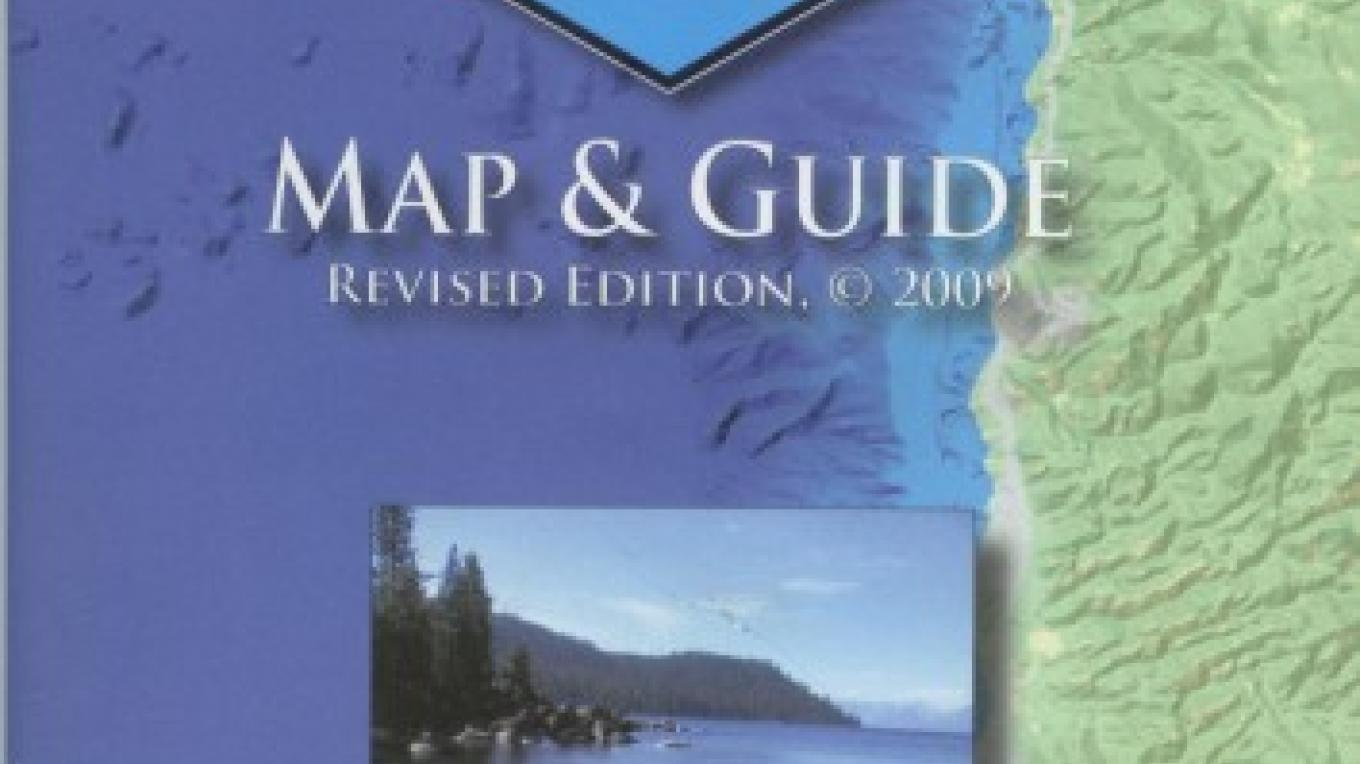 The Lake Tahoe Water Trail Map and Guide is available at paddle shops and visitor centers around Lake Tahoe. – B. Kingman