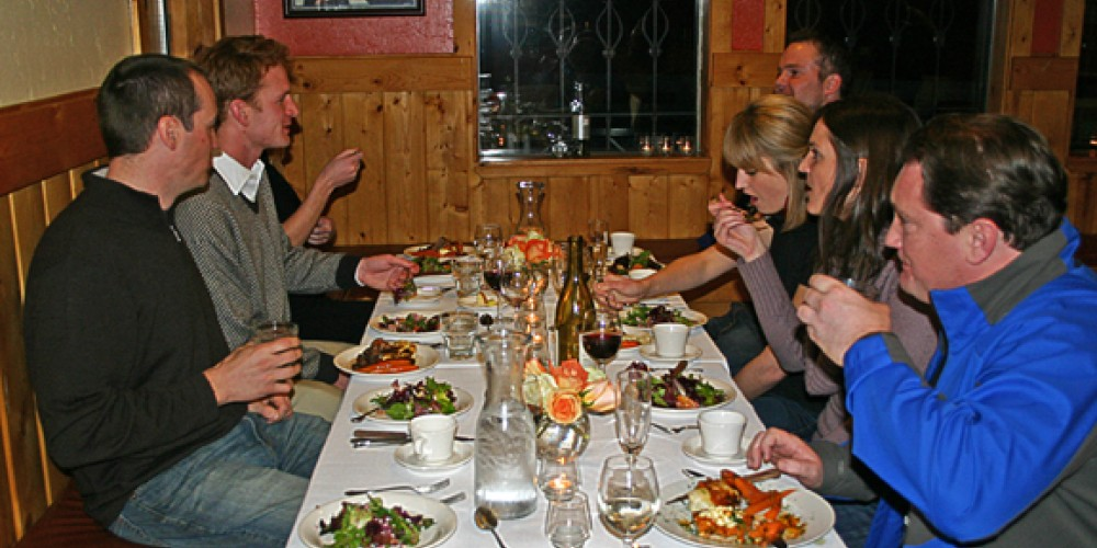 Mountainside Dining Experience - groups of up to 20 can travel to a private gourmet dinner via snow cat! – Rachael Woods
