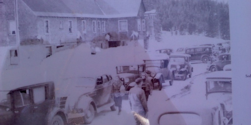 Late 1930's Soda Springs, Donner Summit
