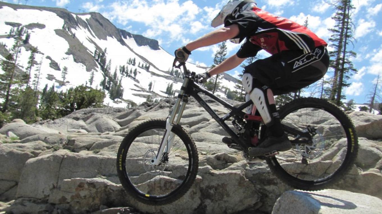 Summer mountain biking at Squaw Valley. – Nathan Kendall