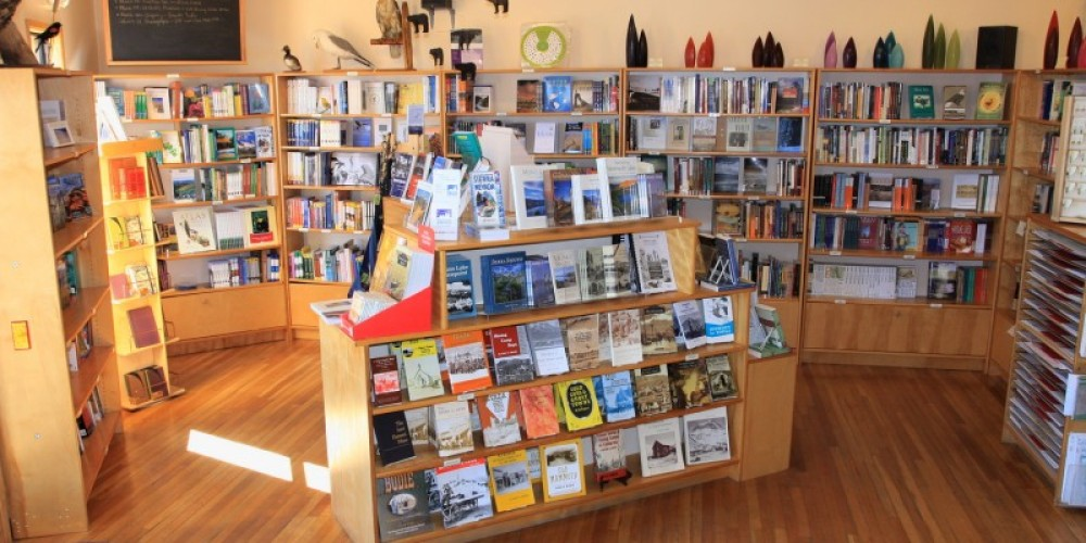 The Committee has a wide selection of books, from field guides, local history books, and maps, to bestsellers, selected non-fiction and fiction, and poetry. – Arya Degenhardt