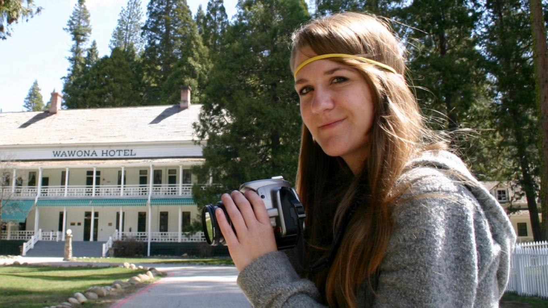 Kristen on Photo Safari in Wawona – Pat Althizer