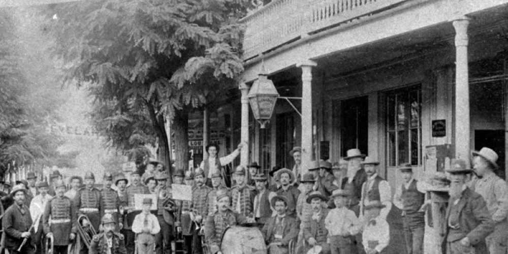 People in the 1800s liked parades as much as today's Downieville-eans – unknown