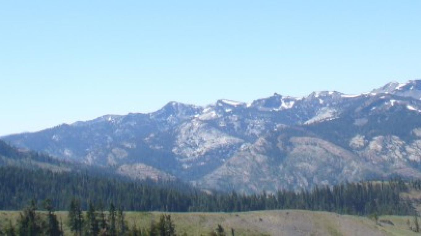 Anderson Peak and the Sierra Crest – John Eaton