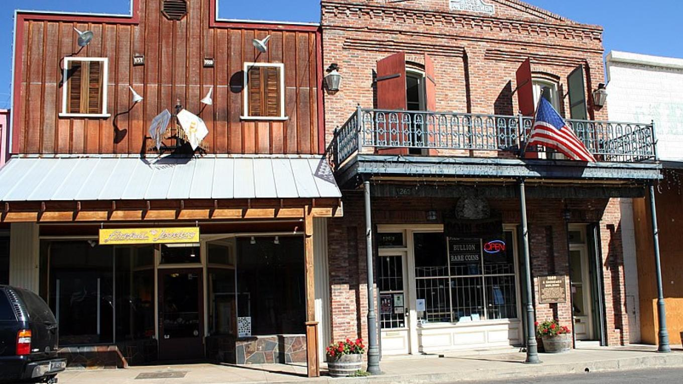 A few of the many old buildings still in use today. Many are the home of quaint little antique shops – westernmininghistory.com 4 Original Photography