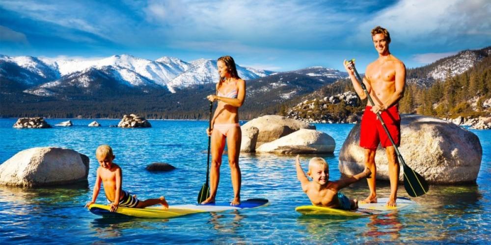 Paddle Board Adventure Tour - Lake Tahoe – Tahoe Jack's Adventure Authority