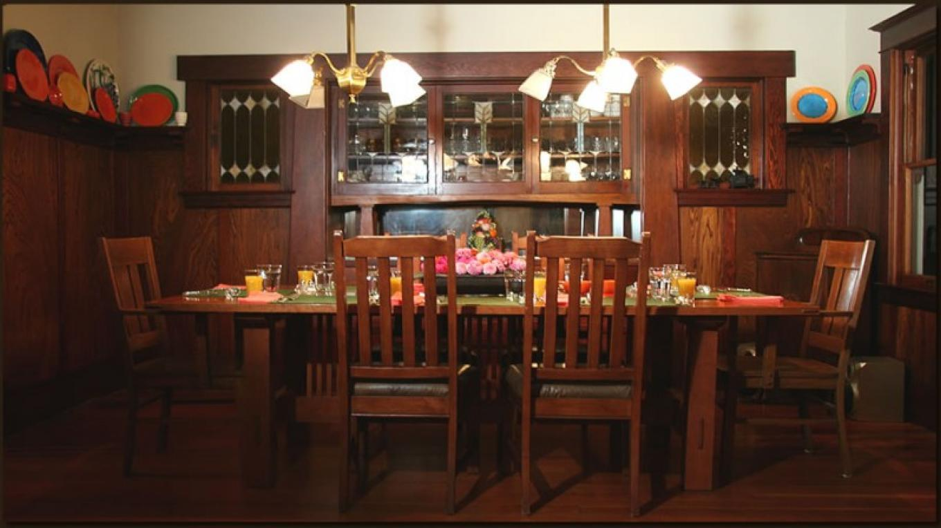 Craftsman Dining Room – Christine Gustafson, InnLight Marketing